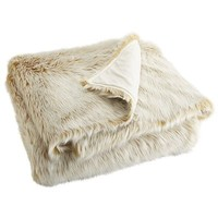 Oversized Ombre Faux Fur Throw - Gold$59.98$79.95