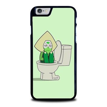 STEVEN UNIVERSE PERIDOT IN TOILET iPhone 6 / 6S Case Cover