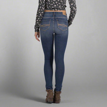 and jeans Abercrombie fitch super skinny