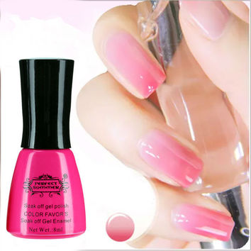 Temperature Change Nail Gel Polish