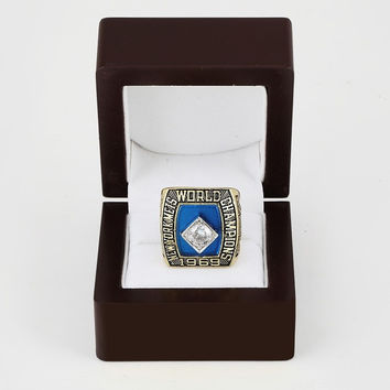 1969 NY   York Mets World Series Baseball Championship Rings men fashion copper  sports jewelry