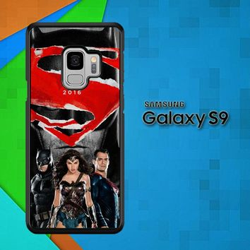 Batman Vs Superman W3550 Samsung Galaxy S9 Case