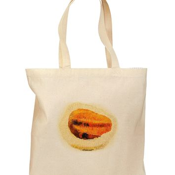 Trilobite Fossil Watercolor Grocery Tote Bag