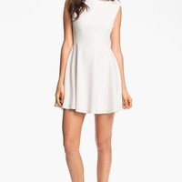 French Connection Boatneck Fit & Flare Dress | Nordstrom
