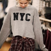 NANCY NYC PATCH SWEATSHIRT
