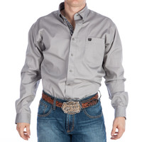 Men's Cinch Solid Grey Buttondown Shirt
