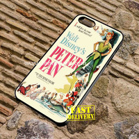 Peter Pan Walt Disney Classic Phone Case For iPhone And Samsung Galaxy Case 2016