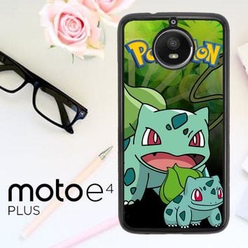 Pokemon Bulbasaur C0055 Motorola Moto E4 Plus Case