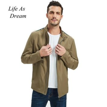 Trendy Big Size 4XL 5XL Mens Spring Summer Jackets Casual Thin Male Windbreakers College Bomber Black Windcheater Hommes Varsity Jacket AT_94_13
