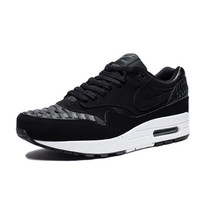 NIKE AIR MAX 1 WOVEN - BLACK/DARK GREY/WHITE | Undefeated