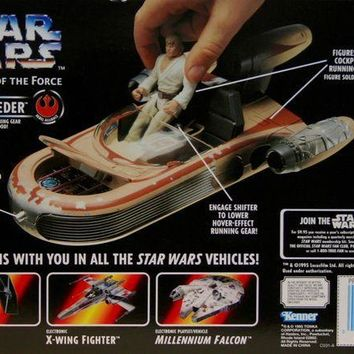 CREYN3C Star Wars Power of the Force Landspeeder Vehicle