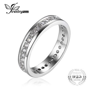 Classic Band Wedding Ring 925 Sterling Silver Fshion Jewelry for Women Fine Jewelry and Best Gift  for Friend
