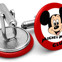 Mickey Mouse Club Cufflinks