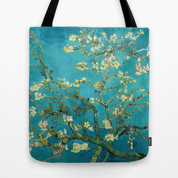 Vincent Van Gogh Blossoming Almond Tree Tote Bag by Art Gallery