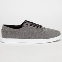 Globe Lyte Mens Shoes Black Chambray  In Sizes