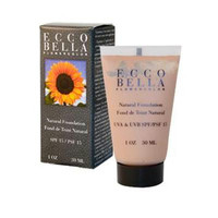 Ecco Bella FlowerColor Natural Foundation SPF 15 Tan - 1 oz