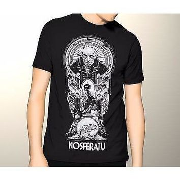 NEW T Shirt Nosferatu Classic Horror Movie Adult Tee Graphic S-5XL