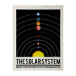 Hand Painted Solar System Poster