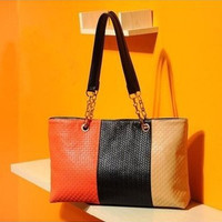 Women Classical Fashion One Shoulder Tote Bag On Sale = 4432214724