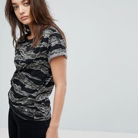 G-Star Knotted Camo T-Shirt at asos.com