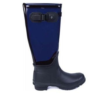 Hunter Original Clear Leg- Midnight Tall Boot