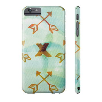 Boho Style Pattern with Arrows Phone Case