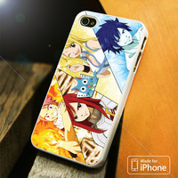 Fairy Tail Character iPhone 4S/5S/5C/SE/6S Plus Case