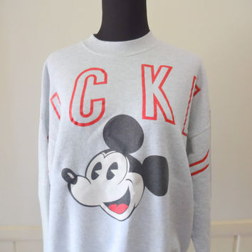 Vintage Mickey Mouse Disney Sweatshirt 1980s