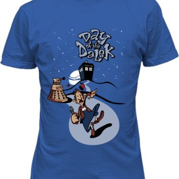 Doctor Who Day of the Dalek Funny T-Shirt