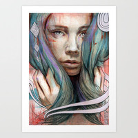 Onawa Art Print by Michael Shapcott