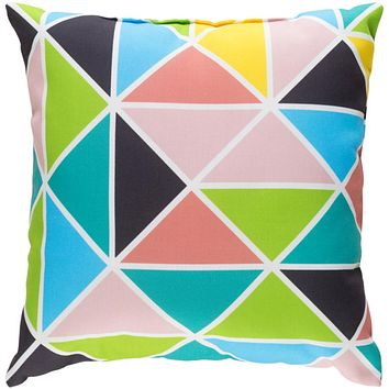 Scandanavian Pillow Cover - Coral, Lime, Charcoal, Emerald, Pale Pink, Sky Blue, Bright Yellow, White - SN007