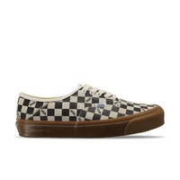 Vans Vault UA OG Style 43 LX Checkerboard Suede (Off-White / Black / Brown) VN0A3DPBQM6