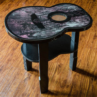 Unique Guitar Accent Table