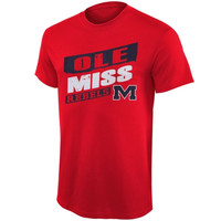 Ole Miss Rebels Up Trend T-Shirt – Red