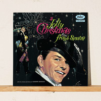 Frank Sinatra - A Jolly Christmas From Frank Sinatra LP - Urban Outfitters