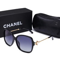 Chanel Popular Sunglasses Elegant Summer Style Sun Shades Eyeglasses Glasses Sunglasses Black I-HWYMSH-YJ