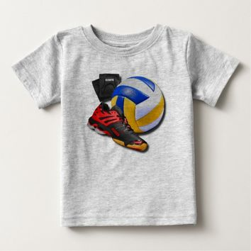 Volleyball Shoe Ball Knee Pads With Your Name T-shirt