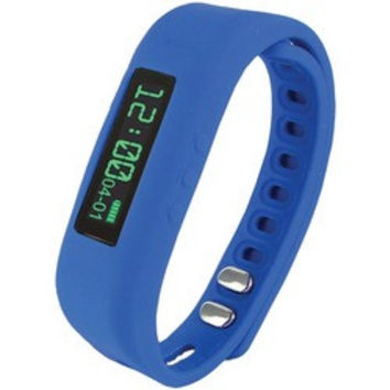 Supersonic Bluetooth Smart Wristband Fitness Tracker (blue) (pack of 1 Ea)