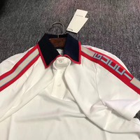 gucci 2018ss fashion polo shirt