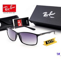 RayBan Ray-Ban Men Women Vintage Polarized Fashion Sunglasses 1#