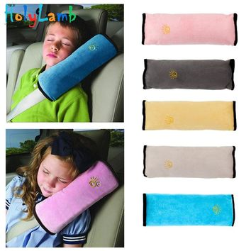 Baby Pillow Safety Seat Belt Harness Shoulder Pad Cover Children Protection Covers Cushion Support Pillow