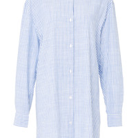 Cotton Stripe Shearer Shirtdress