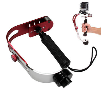 Handheld Video Camera Stabilizer Steady for GoPro Smartphones DSLR/Digital Cameras