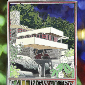 Fallingwater Christmas Ornament