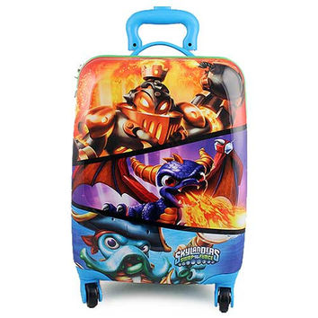 Skylanders Polycarbonate Hard Shell Luggage Case [Swap Force]