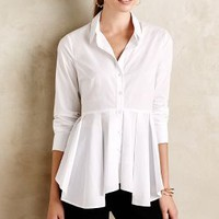 Skirted Poplin Buttondown