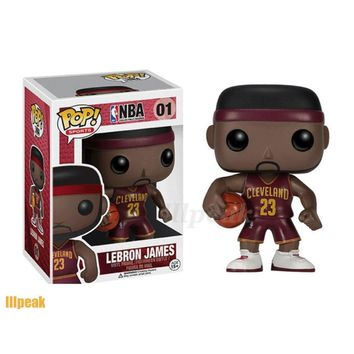 LeBron James NBA Star #23 Funko Pop Vinyl Figure Cleveland Cavaliers Basketball