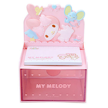 Buy Sanrio My Melody Memo Pad with Die-Cut Drawer Chest at ARTBOX
