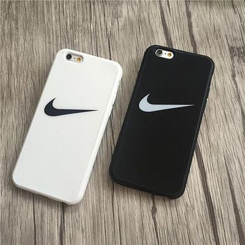 NIKE Popular Print iPhone 6 6s 6Plus 6sPlus 7 7 Plus Phone Cover Case