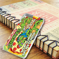 Tmnt Ninja Turtle Say Yes To Pizza iPhone 6 Plus Case